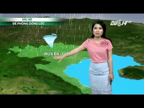 (VTC14)_Thời tiết 6h ngày 25.03.2017