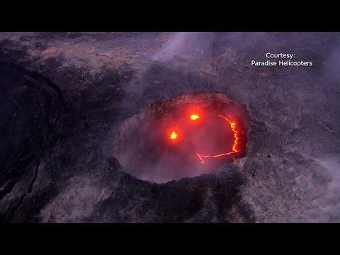 Χαβάη: Tο χαμογελαστό ηφαίστειο Κιλαουέα