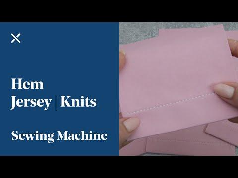 Hem Jersey | Knits on the Sewing Machine