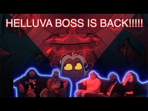 HELLUVA BOSS MURDER FAMILY S1: EPISODE 1 LIVE REACTION   LMAOOO IM SO WEAK!!!!!