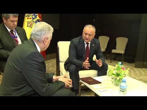 Președintele țării a avut o întrevedere cu prim-ministrul Republicii Turcia