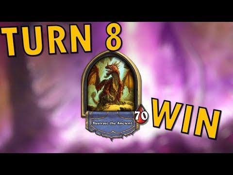Dungeon Run Final Boss Vustrasz the Ancient Defeated on Turn 8 (видео)