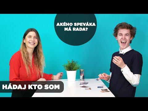 MAJO SEMAN HÁDA ICH OBĽÚBENÉHO SPEVÁKA | Hádaj kto som! видео