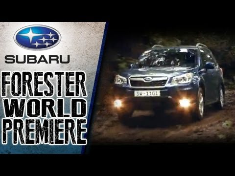 Subaru Forester World Premiere Everything You Want An SUV To Be