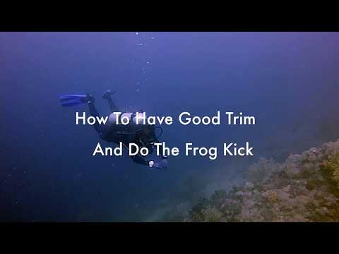 How To Trim and Frog Kick Combined Video