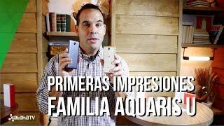 bq Aquaris U, primeras impresiones de la nueva familia de smartphones Android