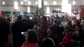 Bemidji (MN) United States  city photos gallery : Native American flash mob at mall in Bemidji, MN.