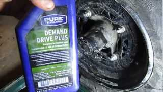 8. How to Drain and Replace Hub Oil on a Polaris Sportsman 4x4 ATV