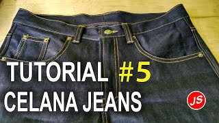 Video How to Sew Jeans Pants # 3 Unite Front Entities and Install Zipper MP3, 3GP, MP4, WEBM, AVI, FLV September 2018