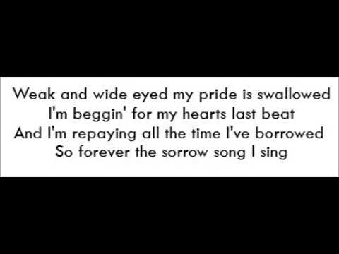 Song Of Sorrow - Elle King (Lyrics)