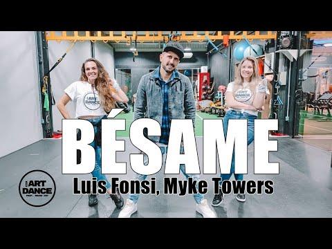 BÉSAME - Luis Fonsi, Myke Towers - Zumba - Bachata l Coreografia l Cia Art Dance