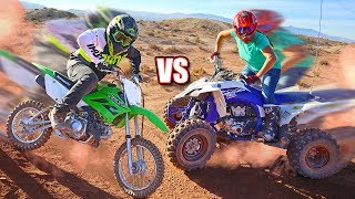 EPIC DIRTBIKE vs ATV Adventure!!