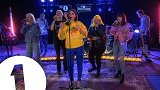 Video Dua Lipa - IDGAF ft. Charli XCX, Zara Larsson, MØ, Alma, in the Live Lounge MP3, 3GP, MP4, WEBM, AVI, FLV Maret 2018