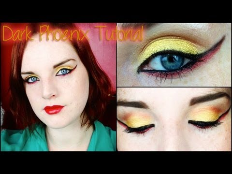 The Dark Phoenix (Beauty Youtuber Facebook Superhero Collab) || Lilac Ghosts