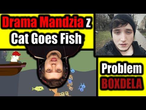 Drama Mandzia z Cat Goes Fishing i Boxdel nachodzony przez ludzi
