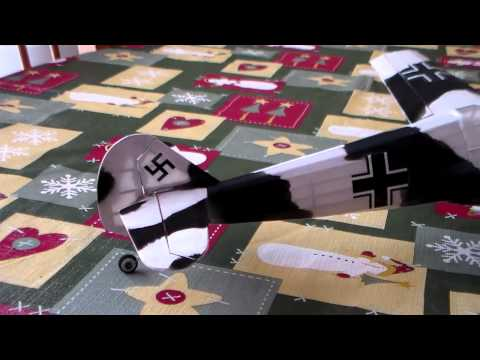 Gullows BF109 RC Conversion with Parkzone Brick