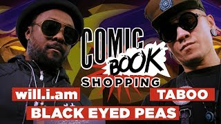 In a new episode of Comic Book Shopping, we're joined by Black Eyed Peas members will.i.am and Taboo to talk about their new...