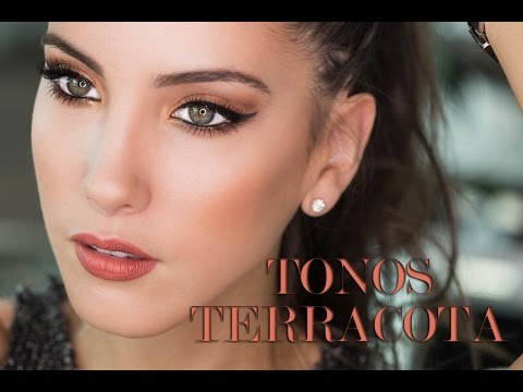 Tutorial Para Resaltar La Mirada: Tonos Tierra Y Terracota | Peace And Vogue