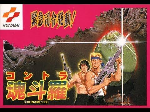 Contra NES aka Probotector NES - NO DEATH (Ultra HD 4k)