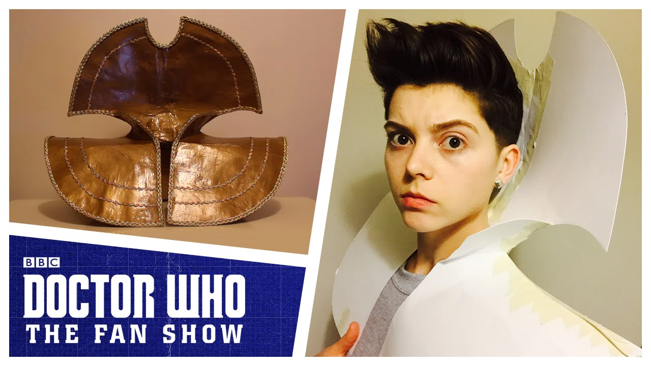 Something for the Weekend: Make A Time Lord Collar with Doctor Who: The Fan Show
