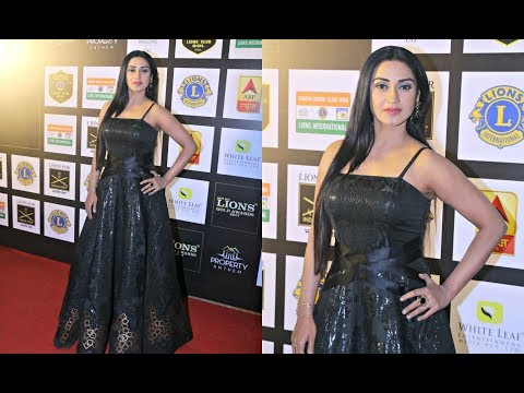 Tv Actress Rati Pandey At Lions Gold Awards 2018