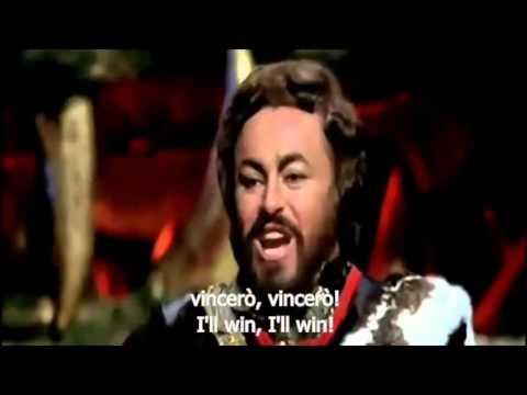 Pavarotti's Nessun dorma
