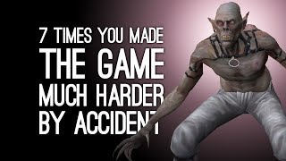 Video 7 Times You Made the Game Much Harder by Accident MP3, 3GP, MP4, WEBM, AVI, FLV Mei 2018