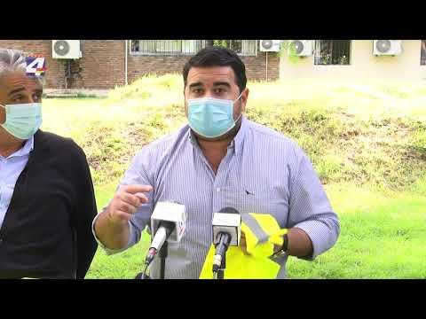 Intendencia entregó 200 chalecos reflectivos al Hospital «Galán y Rocha»