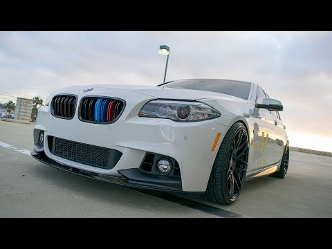 Curva Concepts C-300 wheels on a BMW 535i