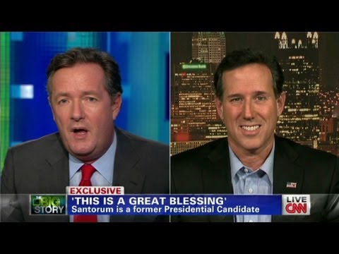 santorum - Guest Rick Santorum explains what he deems to be the Catholic Church's major issue: