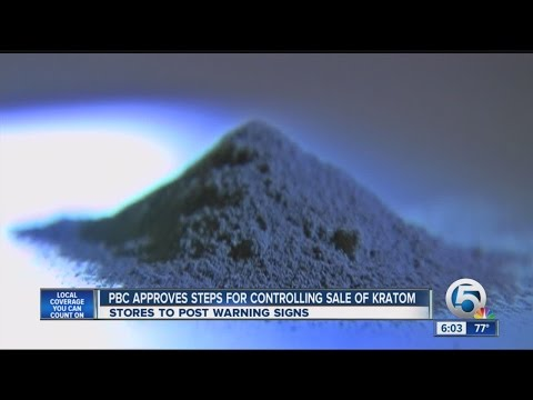 Palm Beach Co. commissioners take action on kratom