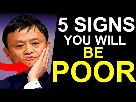 5 Signs You Will Never Become Rich One Day