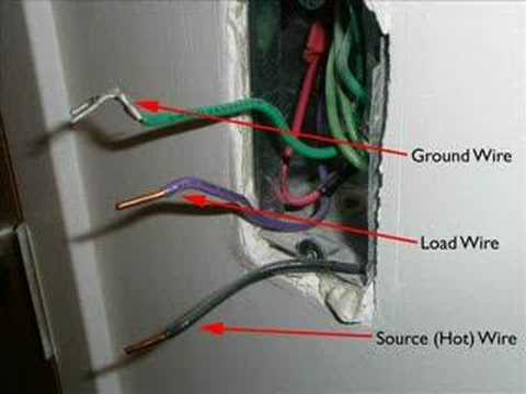 How to replace a light switch
