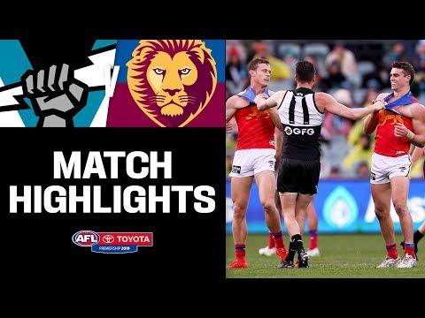 Port Adelaide v Brisbane Highlights | Round 17, 2019 | AFL