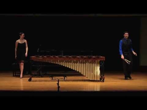 rhythmique - Sejourne Concerto for Marimba and Strings II. Rhythmique,Energique Nicholas McGill, marimba Natasha Stollmack, piano Video by John Palmer.