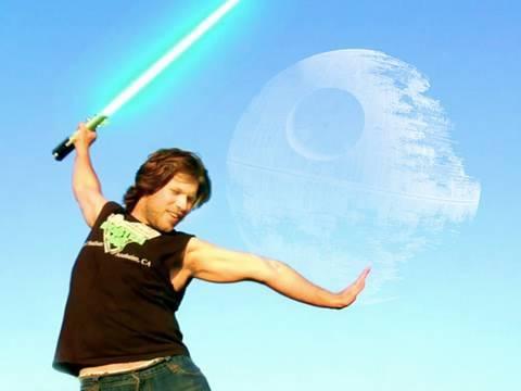 FreddieW: Řitíři Jedi a efekt světelného meče