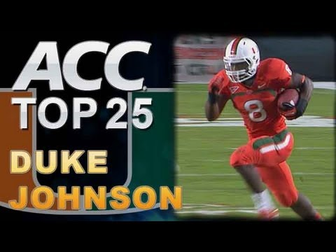 Duke Johnson #3 Top 25 ACC Players to Watch video.