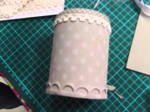 foamy - come creare un barattolo porta penne