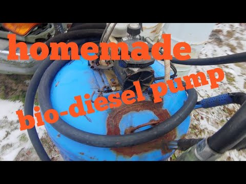 Homemade Vegetable Oil Pump
