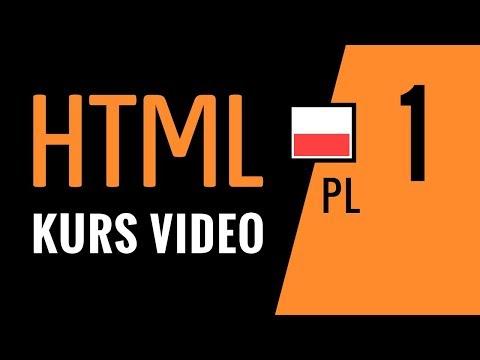 Kurs HTML odc.1: Tworzenie stron www - pierwszy projekt, wiedza podstawowa