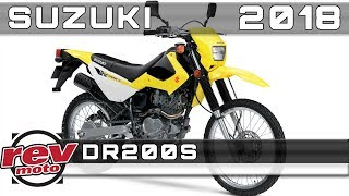 4. 2018 SUZUKI DR200S Review Rendered Price Release Date