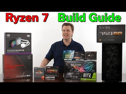 Ryzen 7 2700X — Build Guide — $1,600 Toyota vs $2,500 Lexus — Picking Your Parts Carefully
