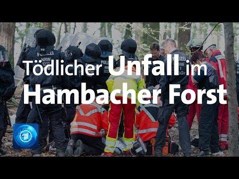 Hambacher Forst - Tödlicher Absturz eines Journalisten