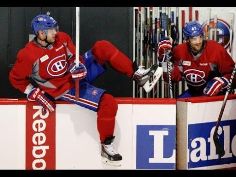 Montreal Canadiens return to practice