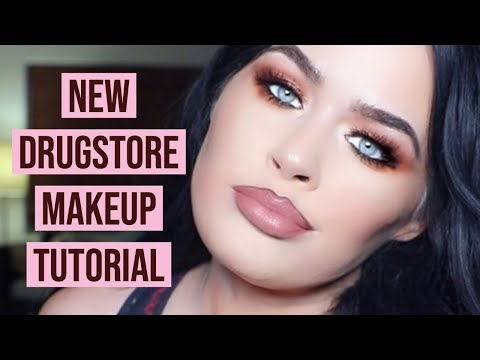 NEW Drugstore Makeup Must Haves! Full Face Affordable Makeup Tutorial!!