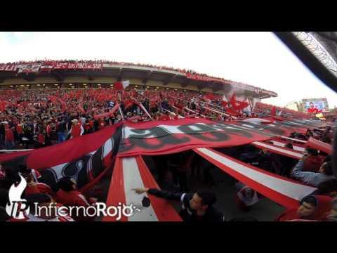 Vamo vamo vamo Independiente, hacelo por tu gente... - La Barra del Rojo - Independiente - Argentina - América del Sur