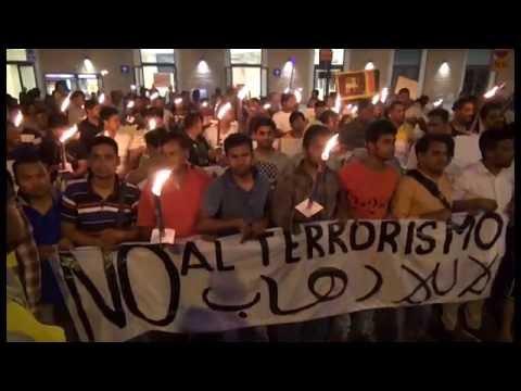 Ad Arezzo una fiaccolata contro il terrorismo ed il razzismo
