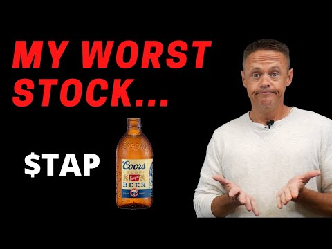 My Worst Stock in 2020 is Molson Coors | TAP Stock Analysis