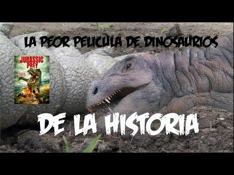 Jurassic Prey ANALIZADA - LA PEOR PELICULA DE DINOSAURIOS DE LA HISTORIA