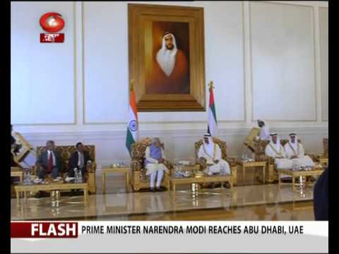 Video PM Modi meets Crown Prince of Abu Dhabi download in MP3, 3GP, MP4, WEBM, AVI, FLV January 2017